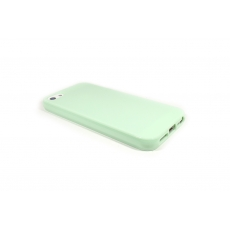 Custodia Flessibile Lucida per iPhone 5/5S - Verde Acqua