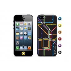 id America - Skin Cushi Gift per iPhone 5 - Subway