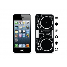 id America - Skin Cushi DJ per iPhone 5 - Turntable