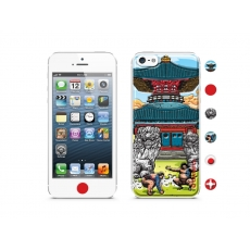 id America - Skin Cushi Original per iPhone 5 - Japan