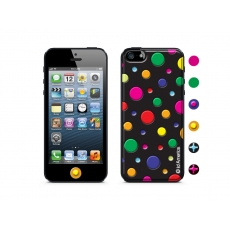 id America - Skin Cushi Dot per iPhone 5 - Multiple Black