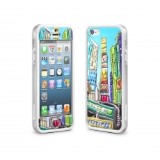 id America - Cushi Plus Original per iPhone 5 - Times Square