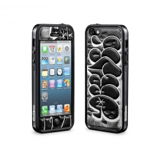 id America - Cushi Plus Graffiti per iPhone 5 - Grigio