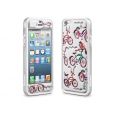 id America - Cushi Plus Original per iPhone 5 - Bicicletta