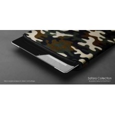Custodia Safara Collection per iPad - Black/Camo