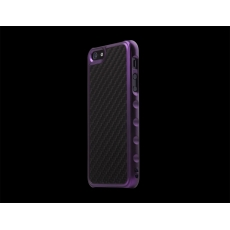 ION factory - Custodia Predator Carbonio per iPhone 5 - Viola