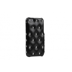 ION factory - Custodia in Pelle Funky Punky per iPhone 5/5S - Nero