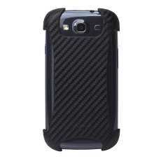 ION factory - Custodia CarbonGrip per Galaxy S3 - Nero
