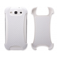 ION factory - Custodia CarbonGrip per Galaxy S3 - Bianco