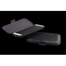 ION factory - Custodia Liptic in Pelle per Galaxy S3 - Nero