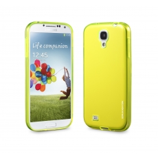 id America - Custodia Flessibile Liquid per Galaxy S4 - Giallo