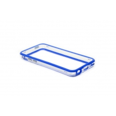 Bumper Advanced per iPhone 5C - Blu/Trasparente