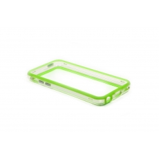 Bumper Advanced per iPhone 5C - Verde/Trasparente