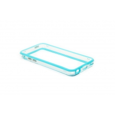 Bumper Advanced per iPhone 5C - Azzurro/Trasparente