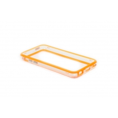 Bumper Advanced per iPhone 5C - Arancione/Trasparente