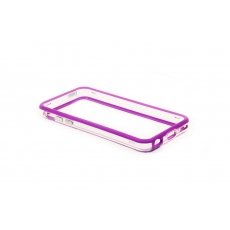 Bumper Advanced per iPhone 5C - Viola/Trasparente