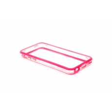 Bumper Advanced per iPhone 5C - Rosa/Trasparente
