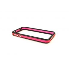 Bumper Bicolore Nero/Rosa Trasparente - Serie Advanced