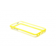 Bumper Advanced per iPhone 5C - Giallo/Trasparente