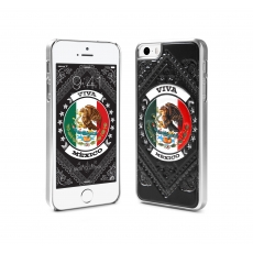 id America - Custodia Cushi Flag in Soft Foam per iPhone 5/5S - Messico