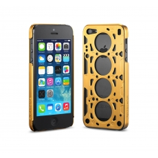 id America - Custodia Gasket V8 in Alluminio per iPhone 5/5S - Gold