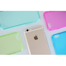"Custodia GlossyFlex Flessibile per iPhone 6 (4.7"") - Verde"