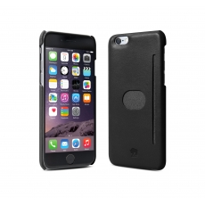 "id America - Wall St. Custodia in Pelle per iPhone 6 Plus (5.5"") - Nero"