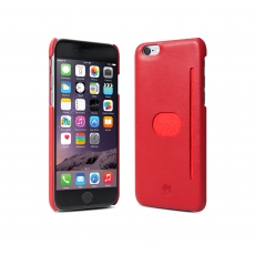"id America - Wall St. Custodia in Pelle per iPhone 6 Plus (5.5"") - Rosso"
