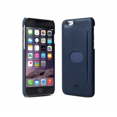 "id America - Wall St. Custodia in Pelle per iPhone 6 Plus (5.5"") - Blu"