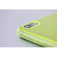 "Custodia ZeroFlex PRO 0.3mm Ultra Sottile Flessibile per iPhone 6 Plus (5.5"") - Giallo"