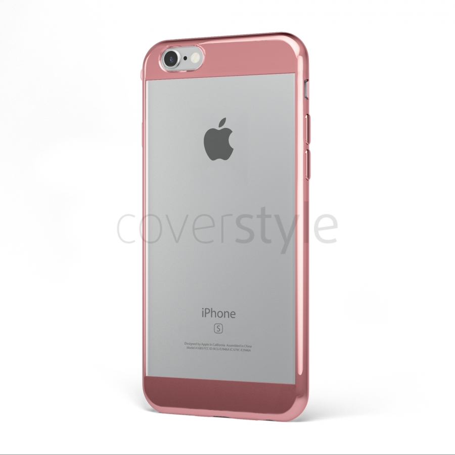 custodia iphone 6s oro rosa