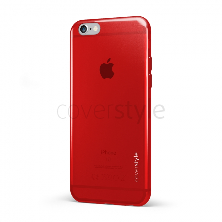 custodia iphone 7 plus rossa
