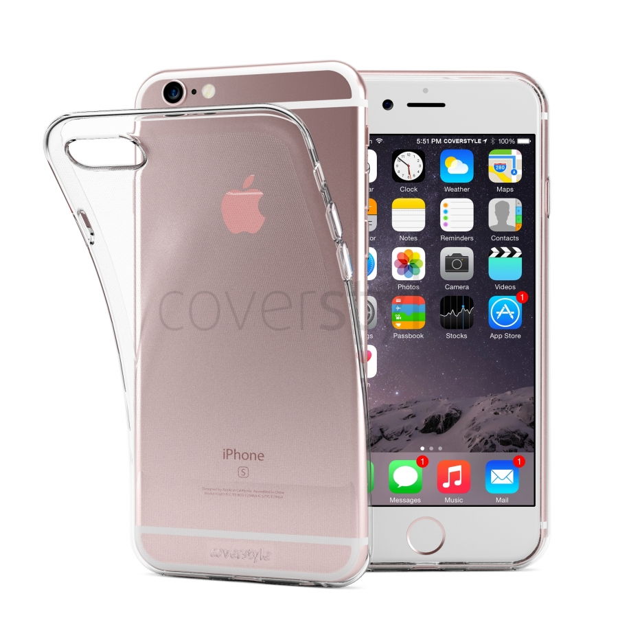custodia iphone 6 s trasparente