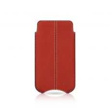 "Beyzacases iPhone 4 SlimLine ""Stitches"" Case - Rosso Vintage"