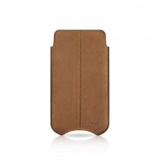 "Beyzacases iPhone 4 SlimLine ""Stitches"" Case - Marrone Vintage"