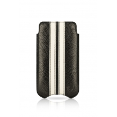 "Beyzacases iPhone 4 SlimLine ""Stripes"" Case - Nero Bianco"