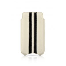 "Beyzacases iPhone 4 SlimLine ""Stripes"" Case - Bianco Nero"