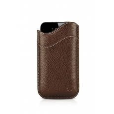 "Beyzacases iPhone 4 ""ID Slim"" Case - Marrone Scuro"