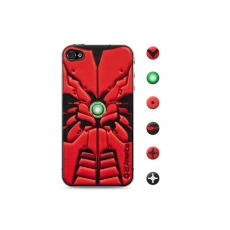 id America - Skin Cushi Robotics per iPhone 4/4S - Red