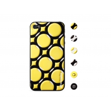 id America - Skin Cushi Art Deco per iPhone 4/4S - Arc Yellow