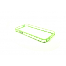 Bumper Bicolore Verde/Trasparente per iPhone 5 - Serie Advanced
