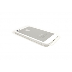 Bumper Bicolore Bianco/Trasparente per iPhone 5 - Serie Advanced
