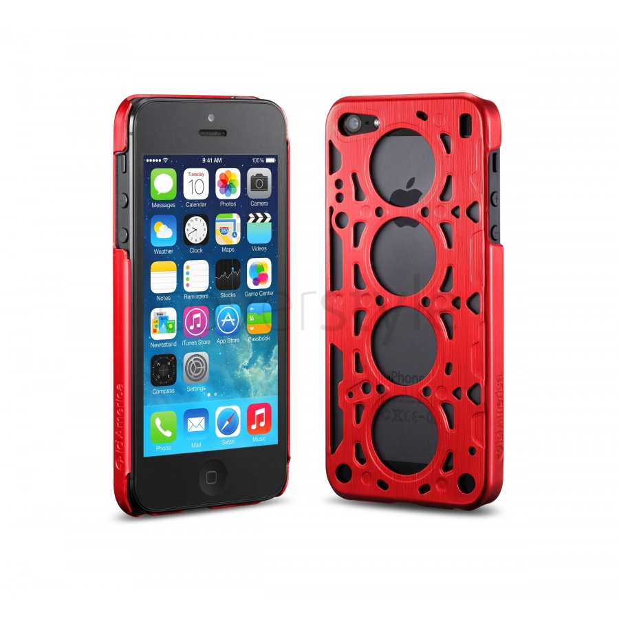 iphone 5s red id america custodia gasket v8 in alluminio per iphone 5 5421